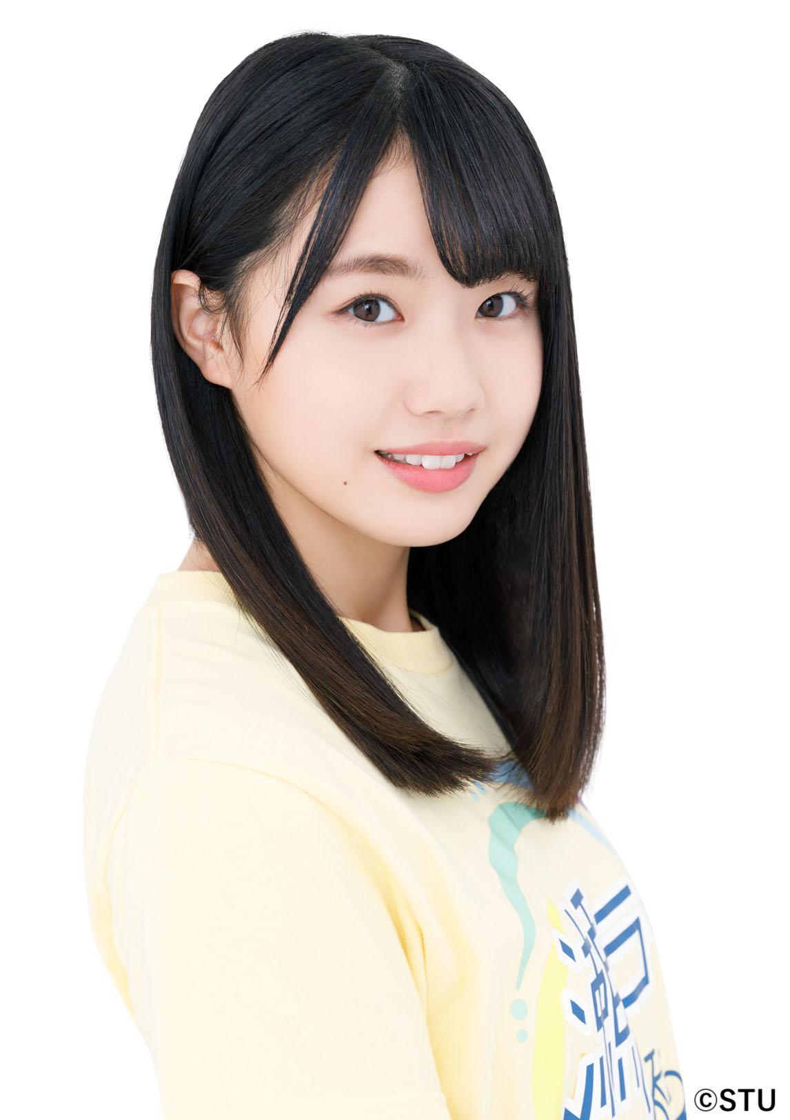 STU48 3rdシングル「大好きな人」センターの瀧野由美子