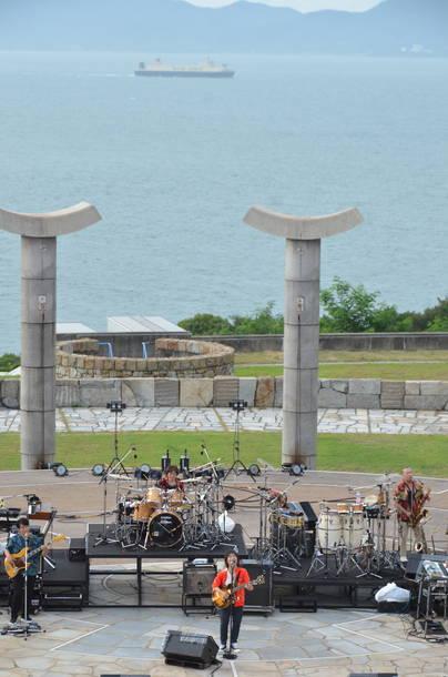 7月20日@香川・さぬき市野外音楽広場テアトロン