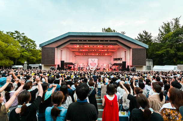 7月27日(土)@大阪城音楽堂 photo by ハヤシマコ