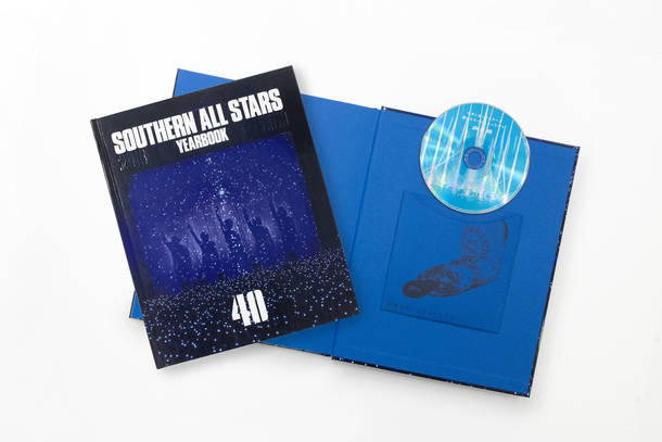 『SOUTHERN ALL STARS YEARBOOK「40」』 CDページ