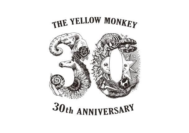 THE YELLOW MONKEY 結成30周年ロゴ