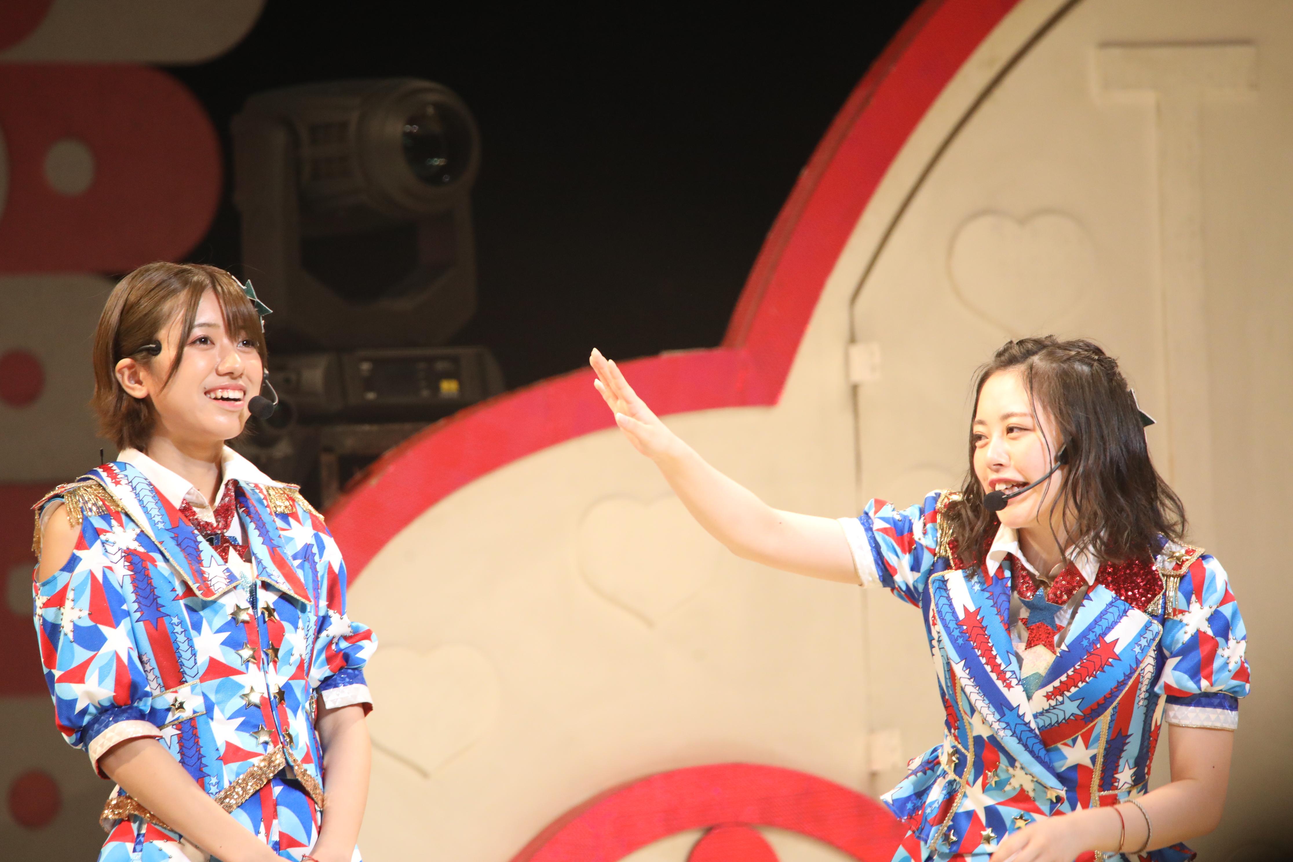 大西桃香と濵咲友菜「おいおい!私のこと忘れてませんか??」