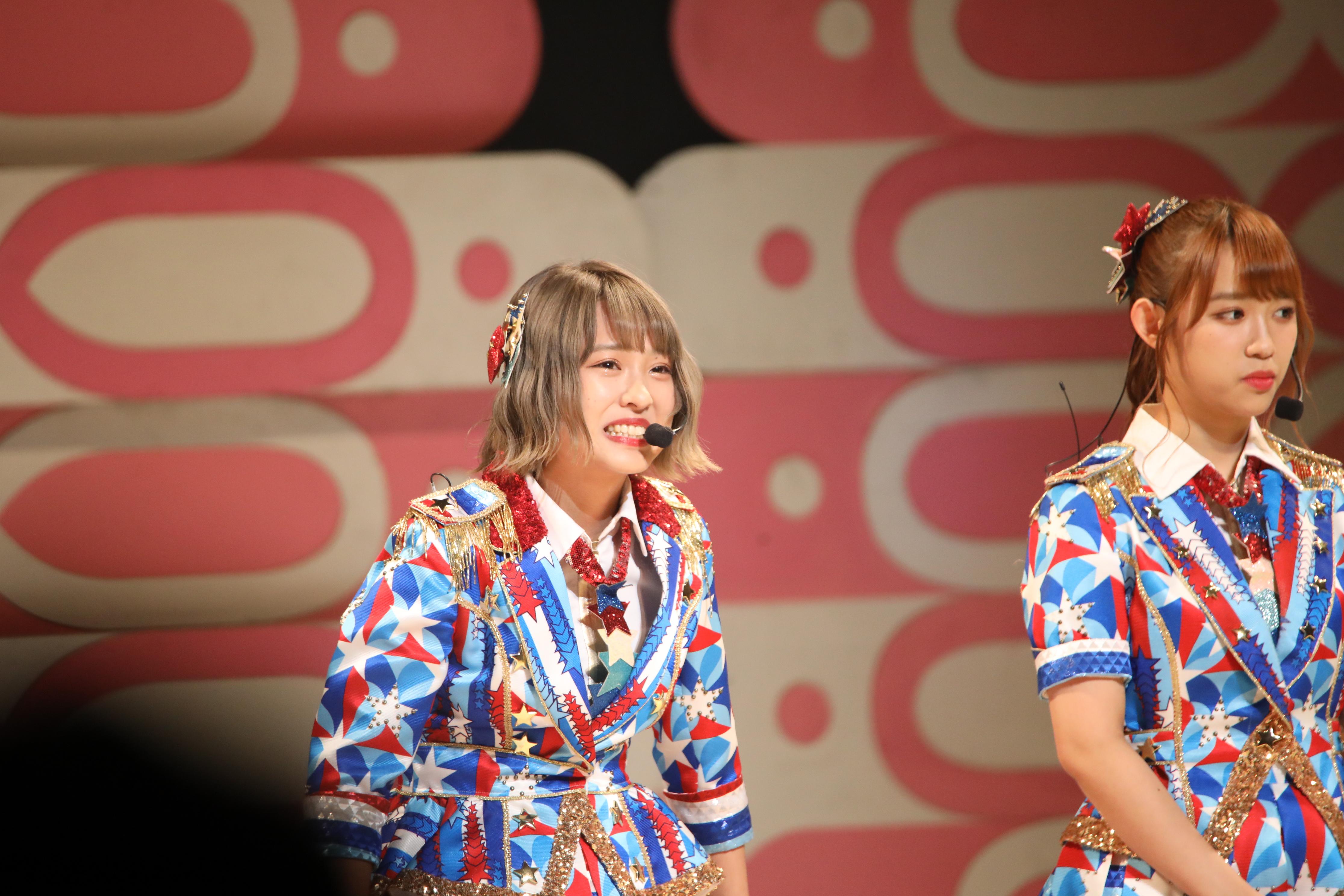 山田菜々美と山本瑠香 「 エイトの日が大阪開催ということで・・」