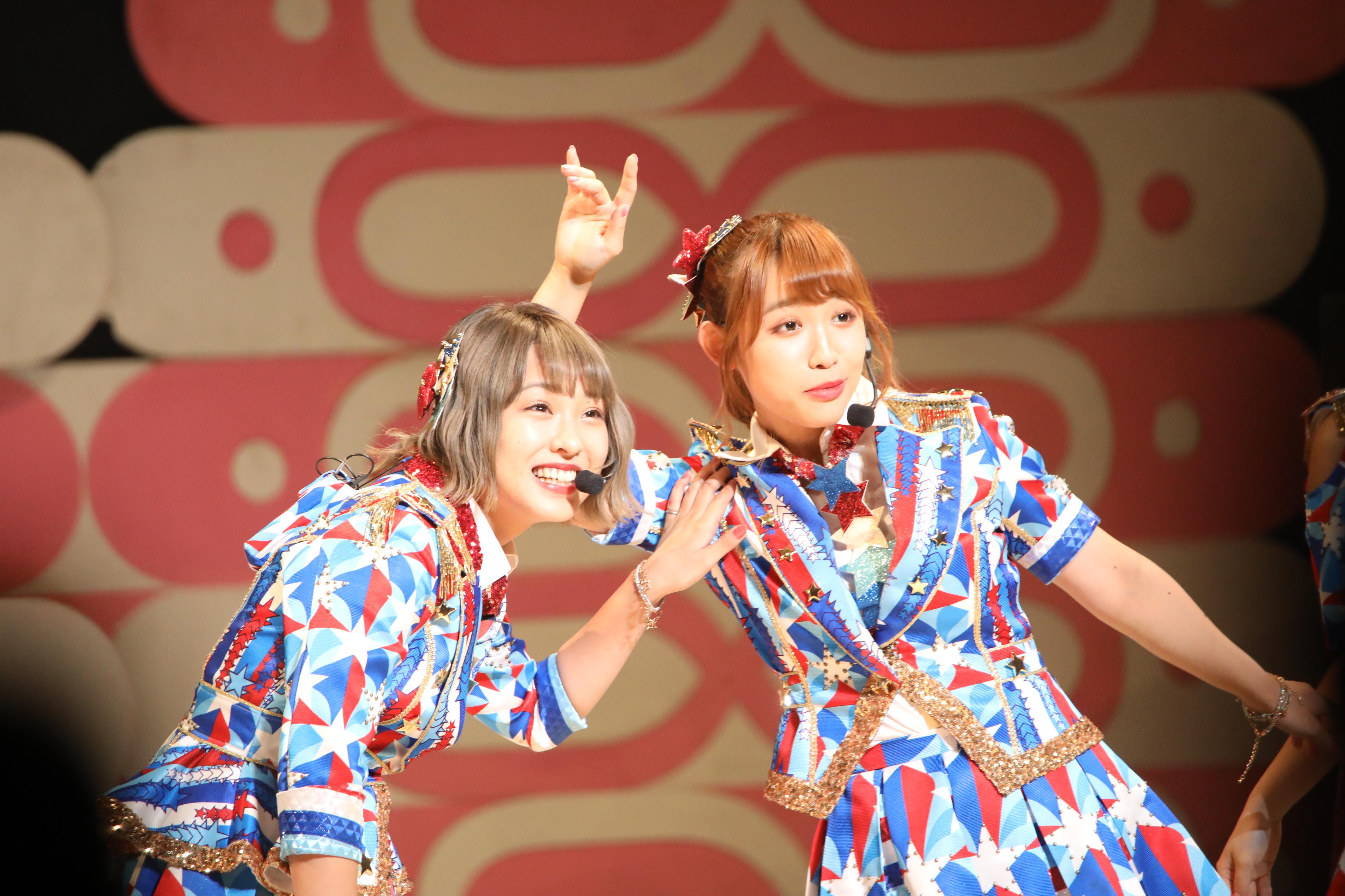山田菜々美と山本瑠香「それしかないんかい!」と突っ込み