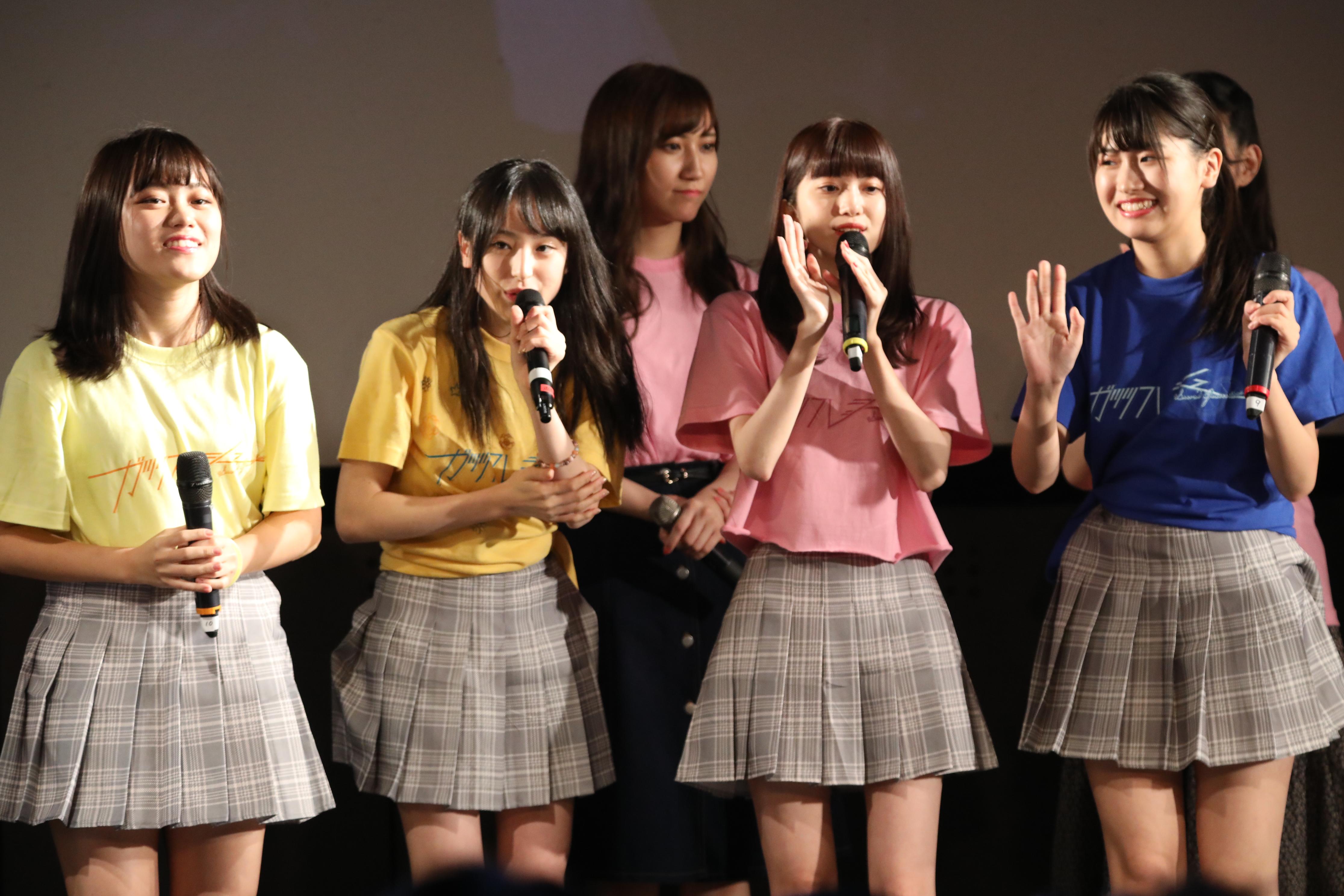 チーム8フレッシュメンバー(春本ゆき、川原美咲、寺田美咲、高橋彩香)