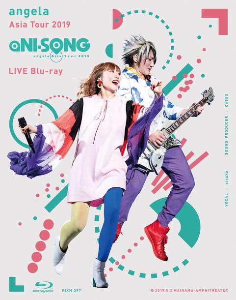 "Blu-ray『angela Asia Tour 2019 ""aNI-SONG"" LIVE Blu-ray』※スペシャルBOXジャケット"