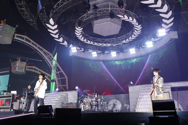 8月28日@幕張メッセ国際展示場9ホール(DISH//)
