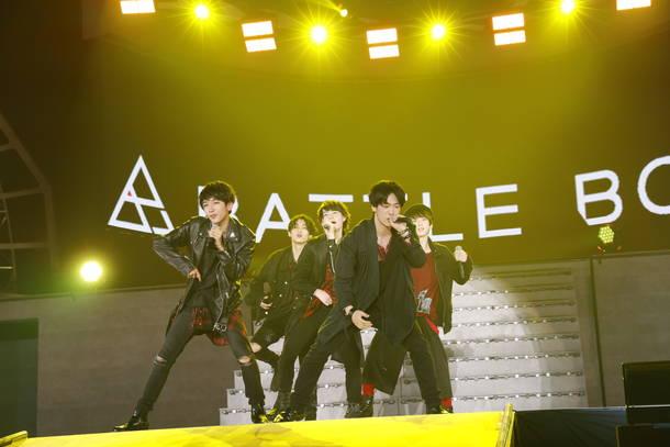 """8月28日@幕張メッセ国際展示場9ホール(""""BATTLE BOYS""""4th STAGE )"""