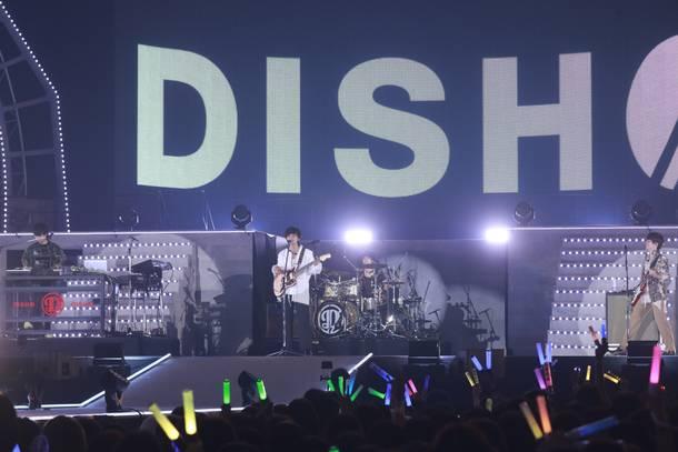8月29日@幕張メッセ国際展示場9ホール(DISH//)