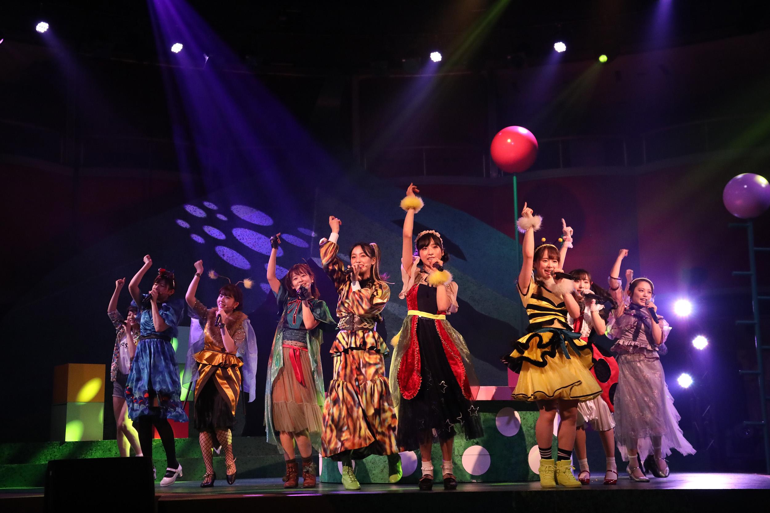 AKB48チーム8単独舞台「Bee School」ゲネプロ