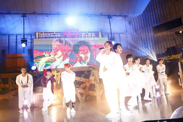【SUPER★DRAGON ライヴレポート】 『IDENTITY NINE』 2019年9月7日@日比谷野外大音楽堂