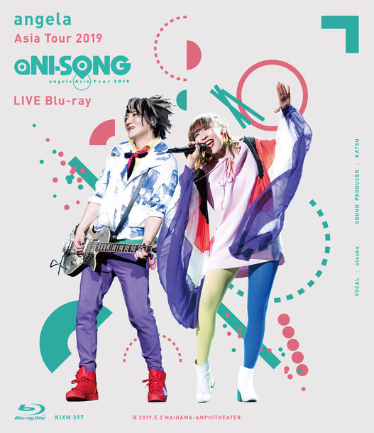 "Blu-ray『angela Asia Tour 2019 ""aNI-SONG"" LIVE Blu-ray』ディスクケース"