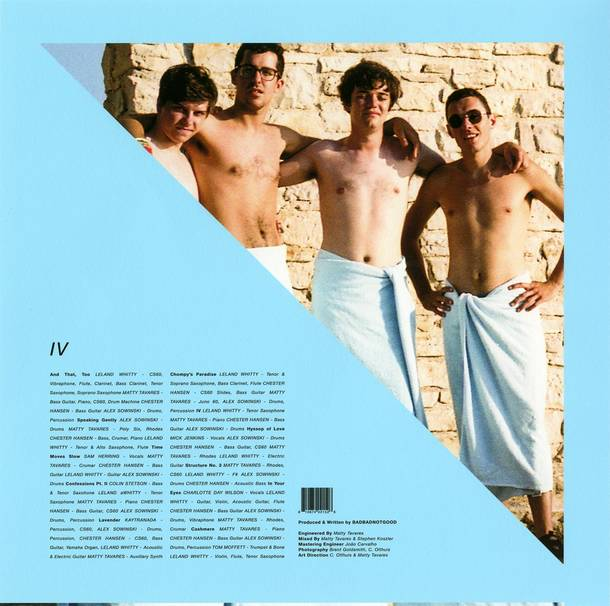 「Time Moves Slow(featuring Sam Herring)」収録アルバム『IV』/BADBADNOTGOOD