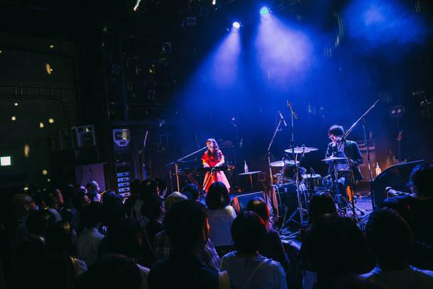 9月22日@渋谷WWW  photo by Kazuma Kobayashi