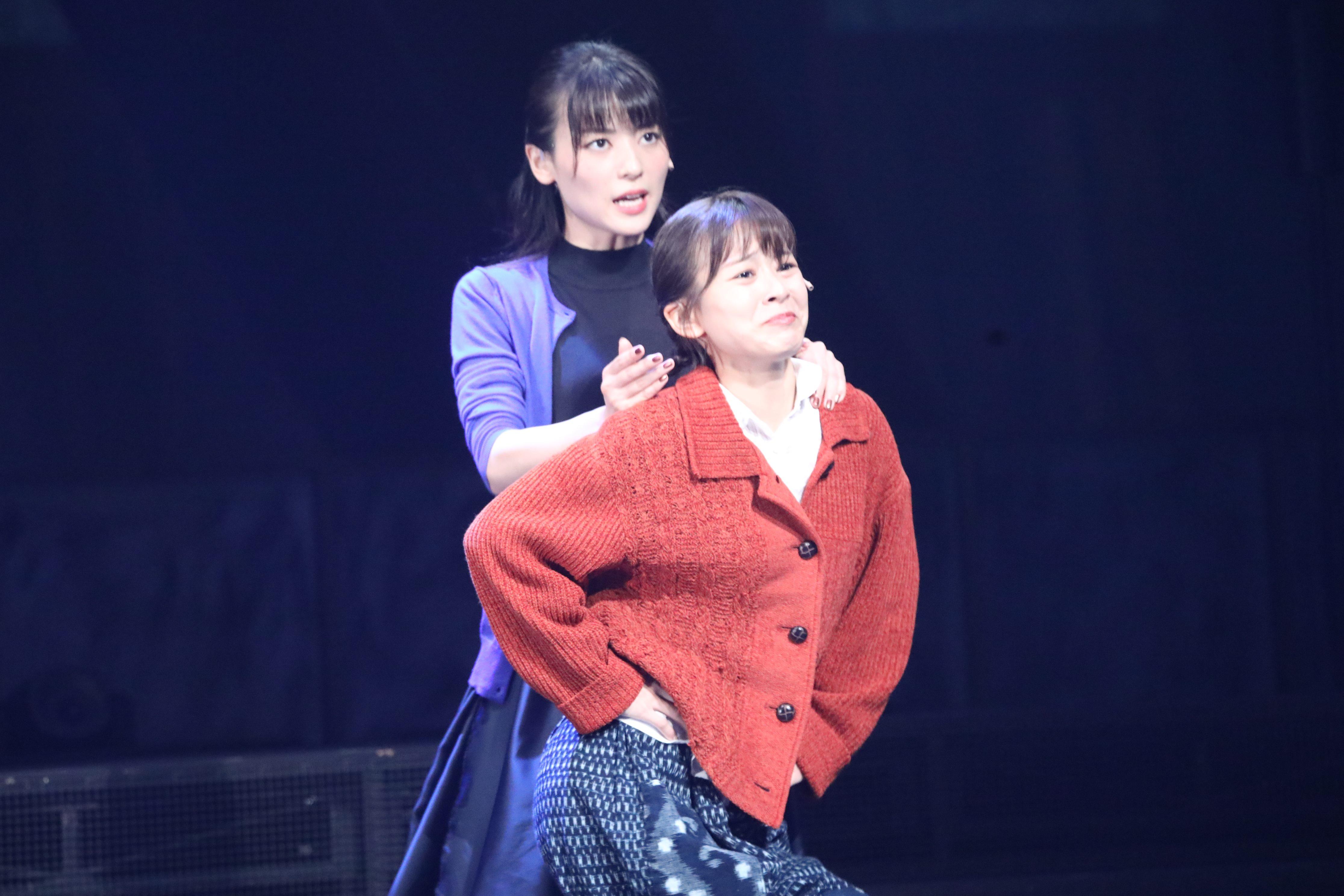 舞台「フラガール」で早苗を演じる太田奈緒:フランダンス稽古シーン