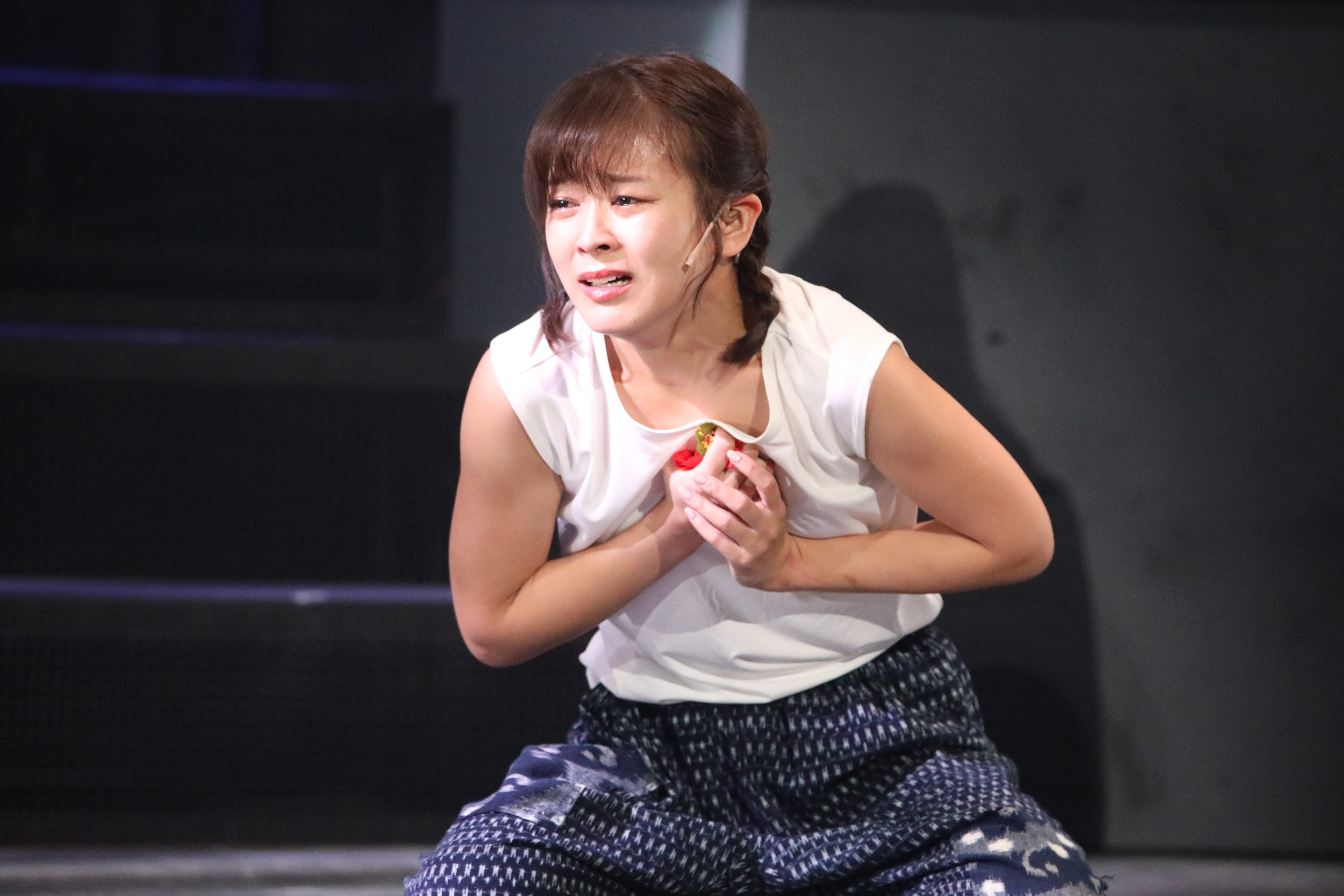 舞台「フラガール」で早苗を演じる太田奈緒