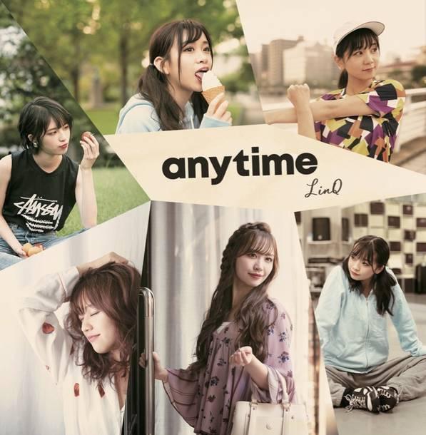 ミニアルバム『anytime』【バリかわ盤】(CD+映像特典(Mカード封入))