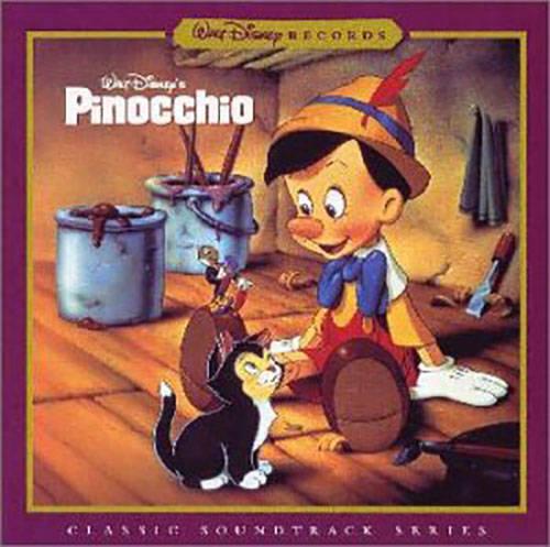 「When You Wish Upon a Star」収録アルバム『ピノキオ ― オリジナル・サウンドトラック (デジタル・リマスター盤)』/Cliff Edwards