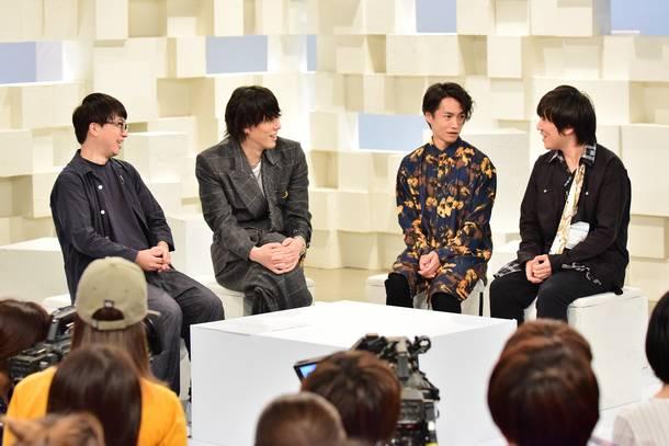 NHK 総合テレビ特集番組『「天気の子」と僕ら~RADWIMPS×新海誠~』より