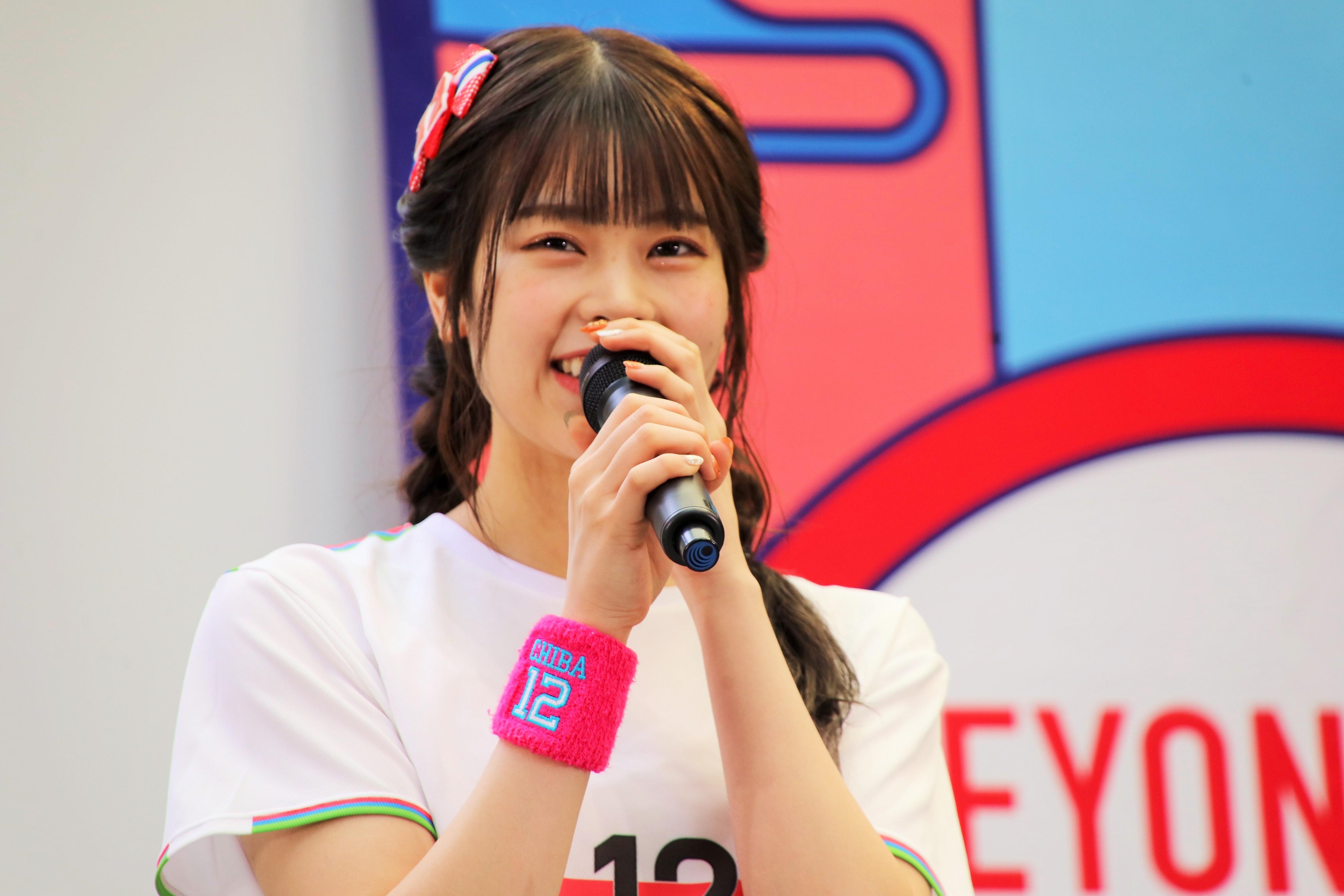「TEAM BEYOND」のイベント〈BEYOND FES 日本橋〉での吉川七瀬