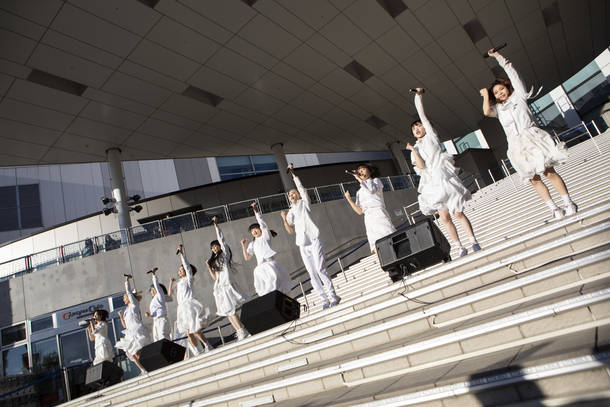 『ギャンパレ10000000000(テンビリオン) 』 photo by 外林健太