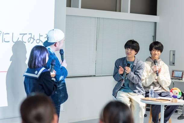 11月16日@東京・ピースオブケイク イベントスペース photo by 小田周介