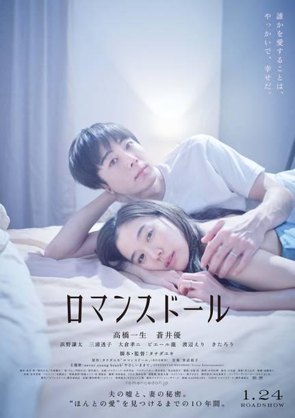 映画『ロマンスドール』ポスター