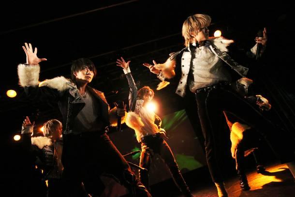BLACK IRIS ライブ写真