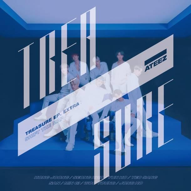 アルバム『TREASURE EP.EXTRA:Shift The Map』