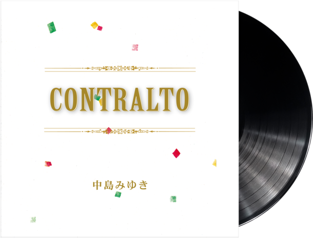 アルバム『CONTRALTO』(LP)