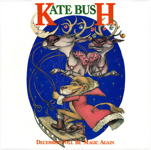 シングル「December Will Be Magic Again」('80)/Kate Bush