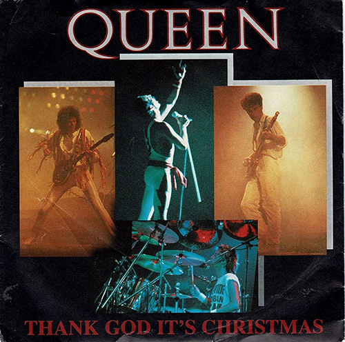 シングル「Thank God It's Christmas」('84)/Queen