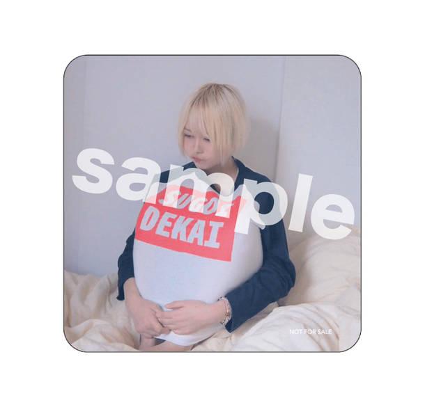 アルバム『ぷ。』先着予約・購入チェーン別オリジナル特典マグネットステッカー(ビクターオンラインストア)