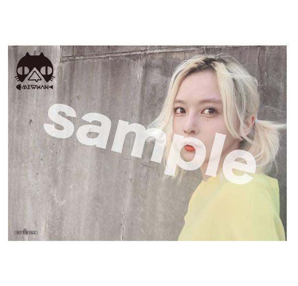 アルバム『ぷ。』先着予約・購入チェーン別オリジナル特典ブロマイド(楽天ブックス)