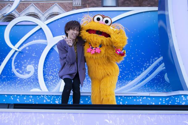 12月25日@ユニバーサル・スタジオ・ジャパン photo by  米山三郎 TM & © 2019 Sesame Workshop