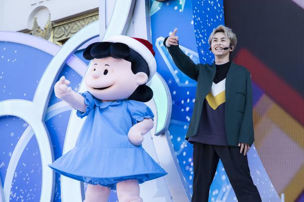 12月25日@ユニバーサル・スタジオ・ジャパン photo by  米山三郎 (C) 2019 Peanuts Worldwide LLC