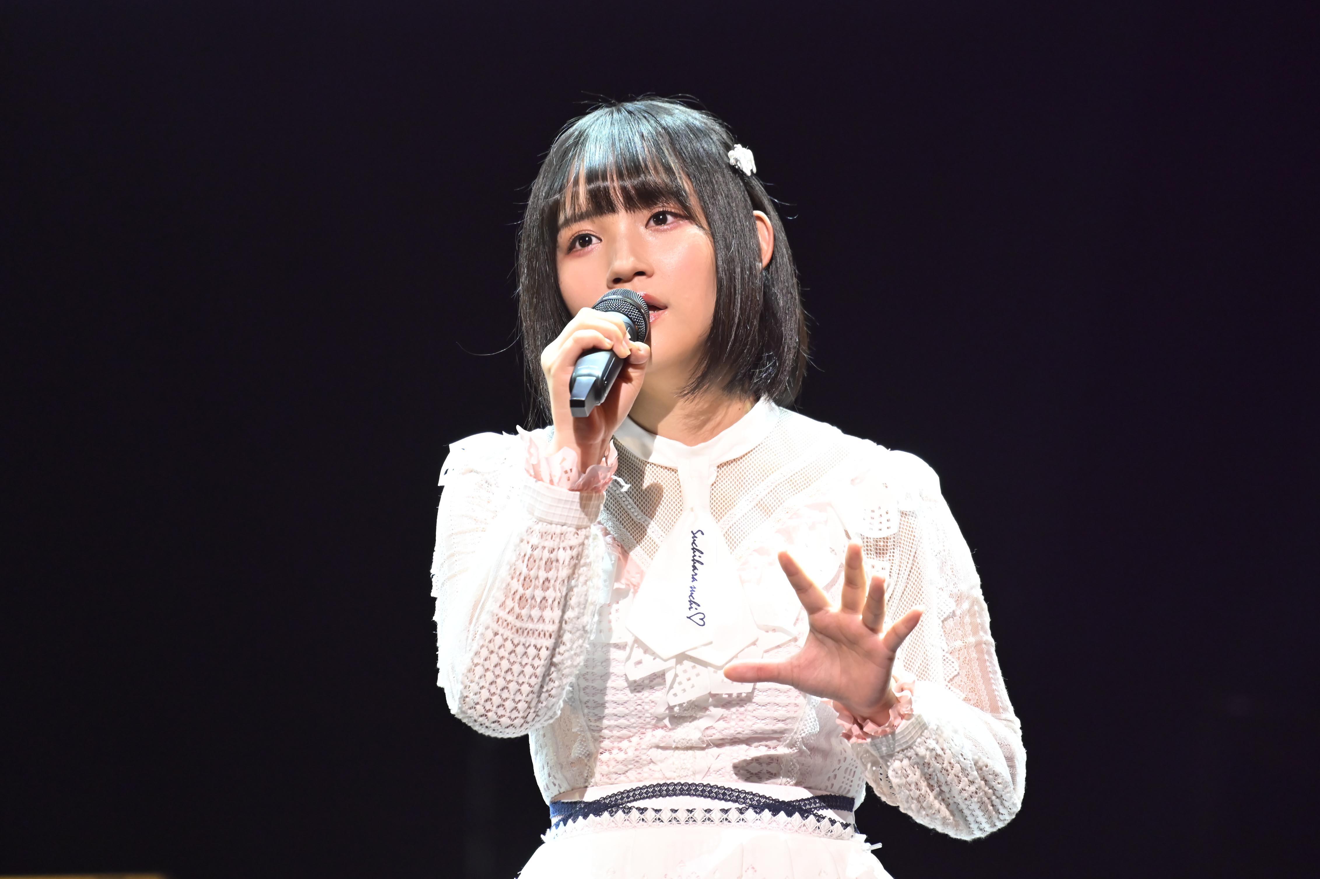 第2回大会で優勝したAKB48矢作萌夏