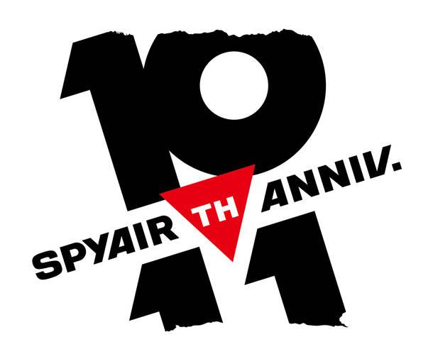 SPYAIR 10周年ロゴ