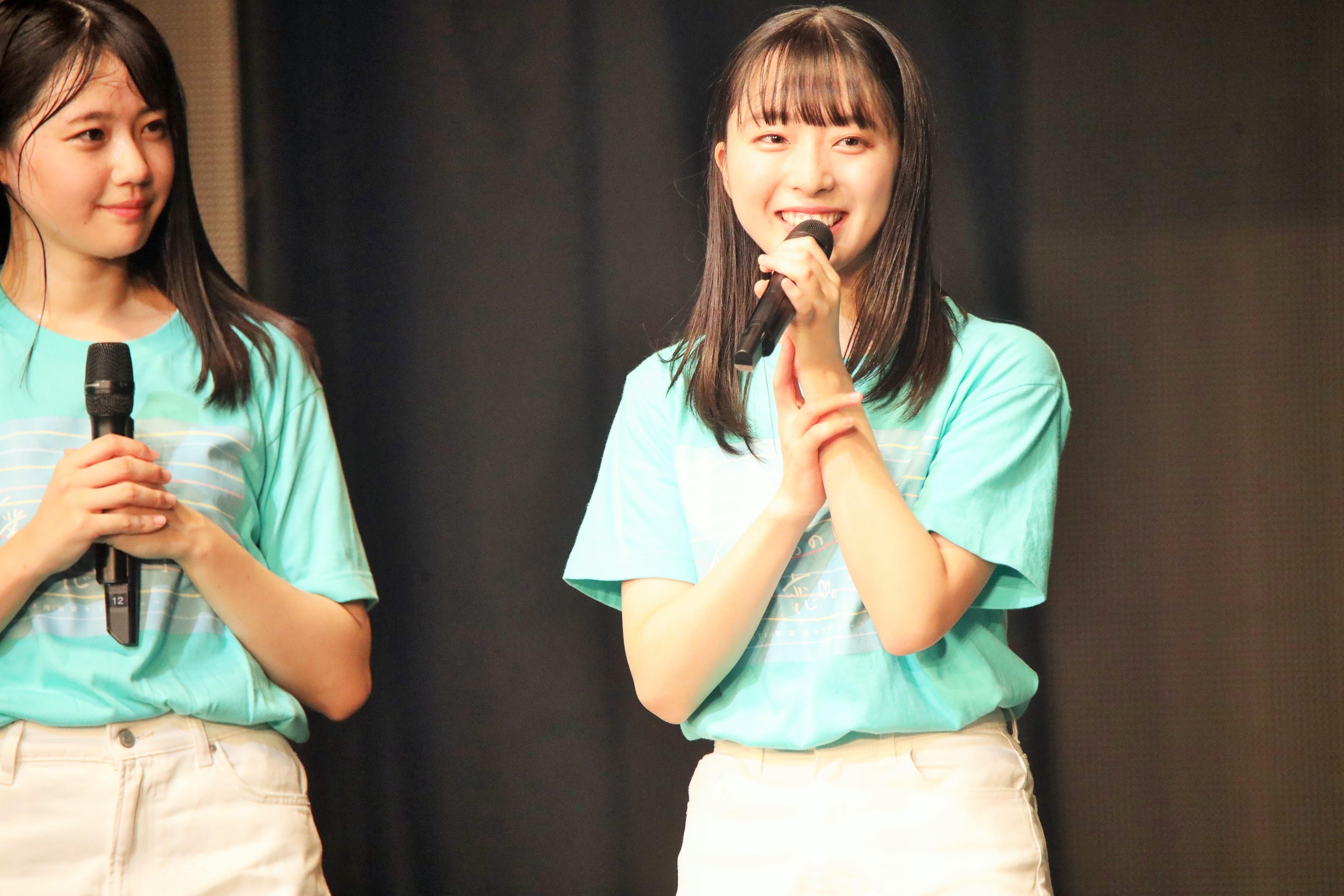 STU48今村美月と瀧野由美子