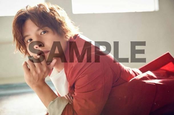 シングル「カラフル」店舗オリジナル特典 アニメイト:複製サイン&コメント入りL判ブロマイド