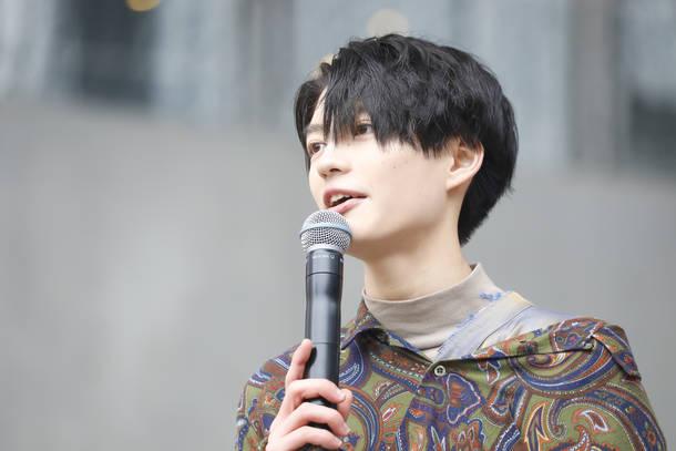1月26日@ダイバーシティ東京プラザ フェスティバル広場 photo by 笹森健一