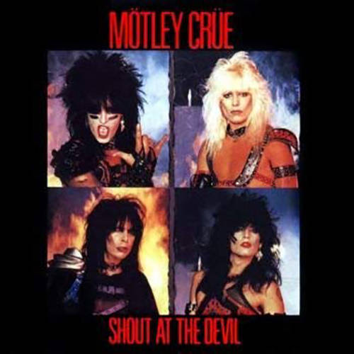 「Shout at the Devil」収録アルバム/Mötley Crüe