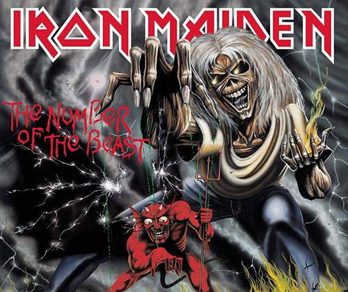 「The Number of the Beast」収録アルバム『The Number of the Beast』/Iron Maiden