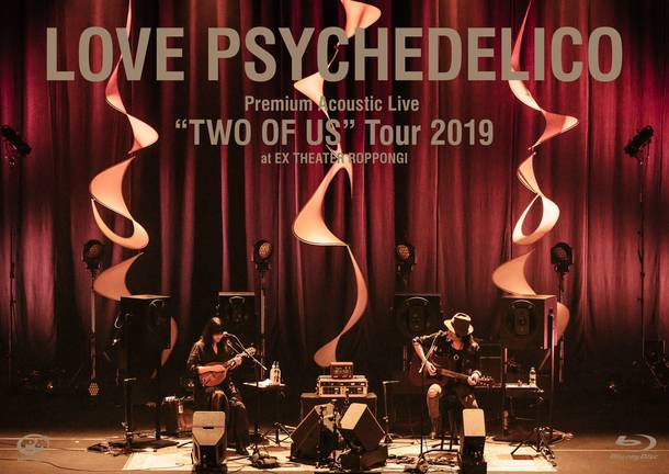 """Blu-ray『Premium Acoustic Live """"TWO OF US"""" Tour 2019 at EX THEATER ROPPONNGI』"""