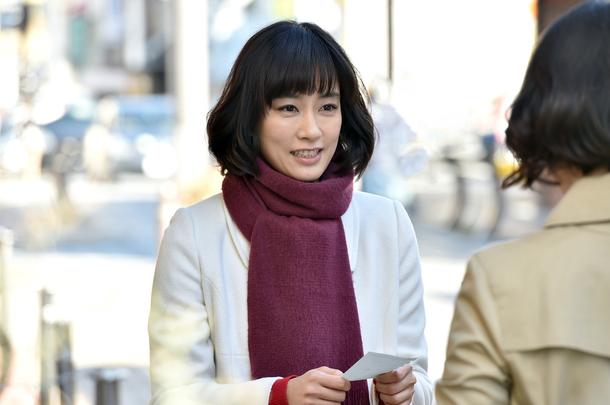 """美和(水川あさみ)はついに""""ルーツ""""と思われる女性と話すが・・・ (c)TBS"""