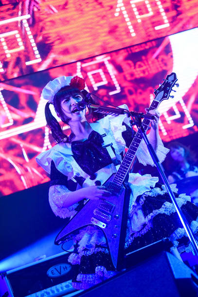 『BAND-MAID WORLD DOMINATION TOUR【進化】PRESENTED BY LIVEDAM Ai』@LINE CUBE SHIBUYA photo by MASANORI FUJIKAWA