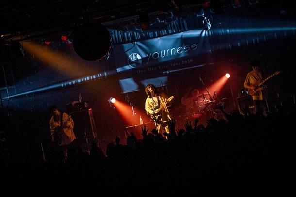 """【ユアネス ライヴレポート】 『ユアネス One Man Live  Tour 2020 """"ES"""" 』 2020年2月16日  at 恵比寿LIQUIDROOM"""
