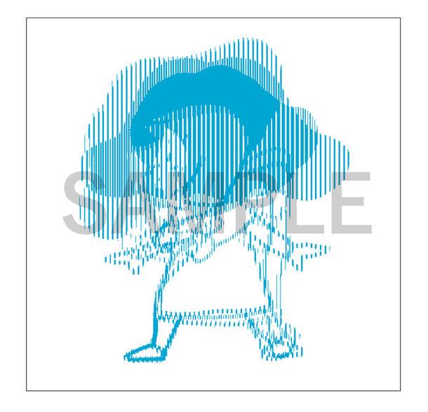パッケージ作品『あたりまえつこのうた』【CD盤】特典:アナザージャケット兼ポストカード
