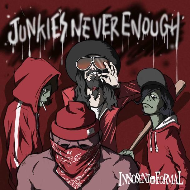 配信シングル「Junkie's never enough」