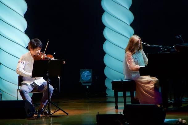 【新居昭乃 ライヴレポート】 『新居昭乃 NEW ALBUM  RELEASE LIVE「ツバメ」』 2020年2月24日 at 日本消防会館 (ニッショーホール)